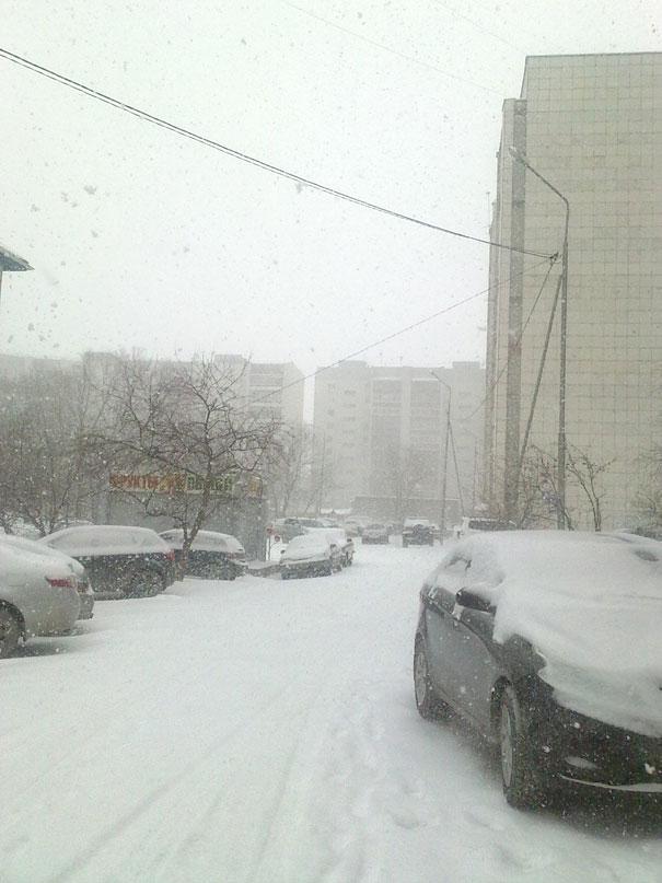 снег-два