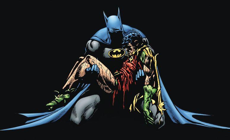 Фрагмент обложки комикса Batman: A Death in the Family