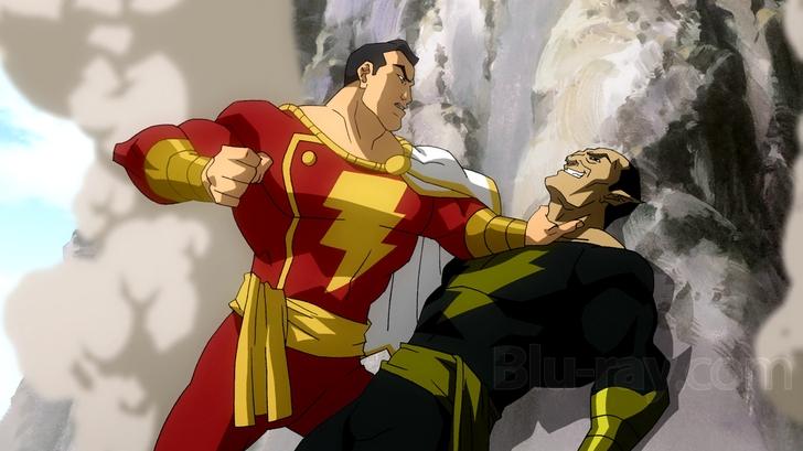 Капитан Марвел против Чёрного Адама