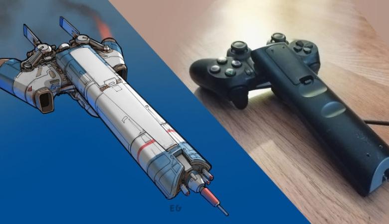 Художник превратил бытовые предметы в космические корабли