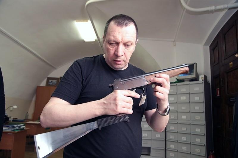 Трёхствольный пистолет ТП-2