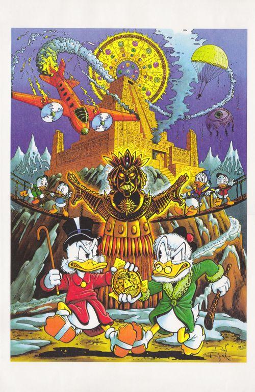 В своём первом комиксе «Сын Солнца» Роса нарочно копировал стиль Баркса