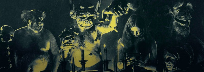 кадр из к/ф «Ведьмы», 1922 год. Режиссер Беньямин Кристенсен