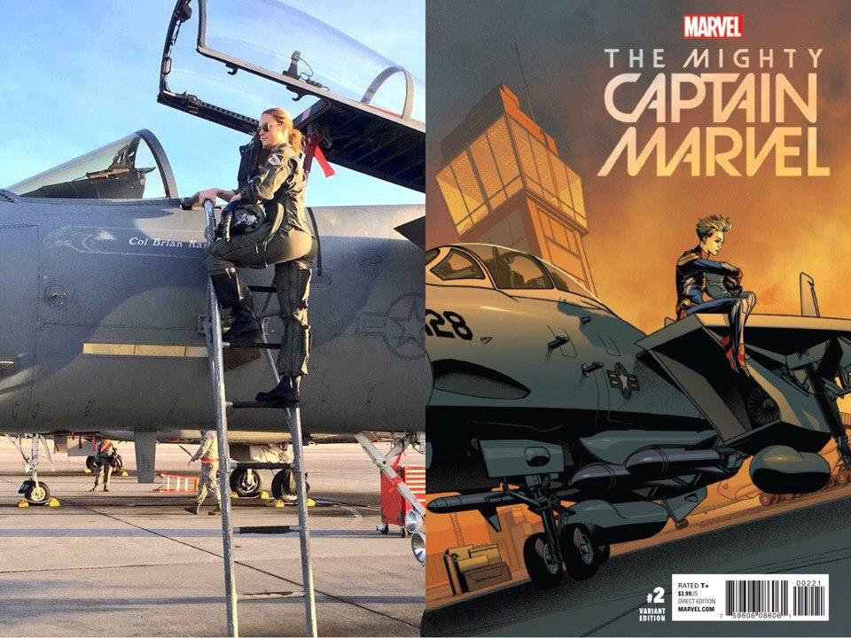 Бри Ларсон готовится к главной роли в «Капитане Марвел»
