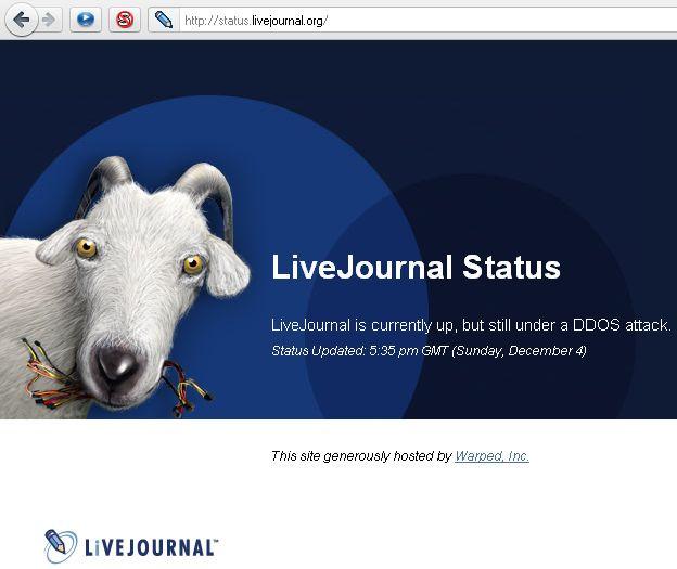 Недоступный Живой Журнал