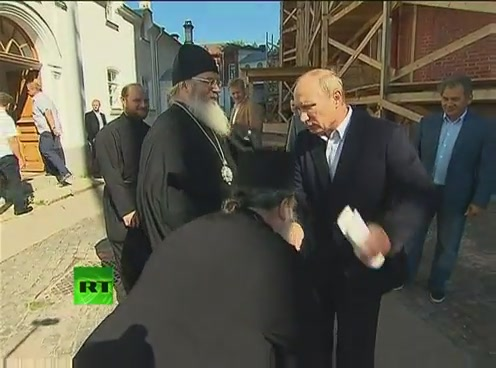 Путин посетил Валаам[(000916)09-50-42]