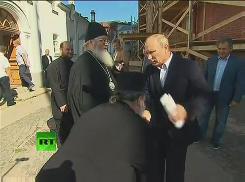 Путин посетил Валаам[(000917)09-49-50]