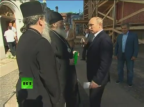 Путин посетил Валаам[(000942)09-50-05]