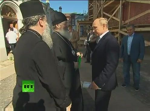 Путин посетил Валаам[(000946)09-49-10]