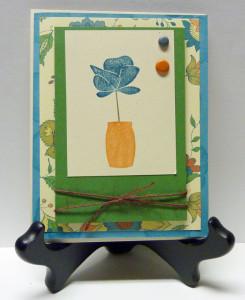 blue-and-orange-flower