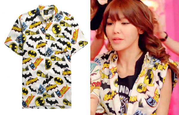 Sooyoung-batman-shirt-lazy-oaf-dancing-queen-mv