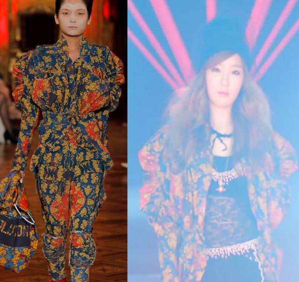 Taeyeon-vivienne-westwood-playsuit-jacket