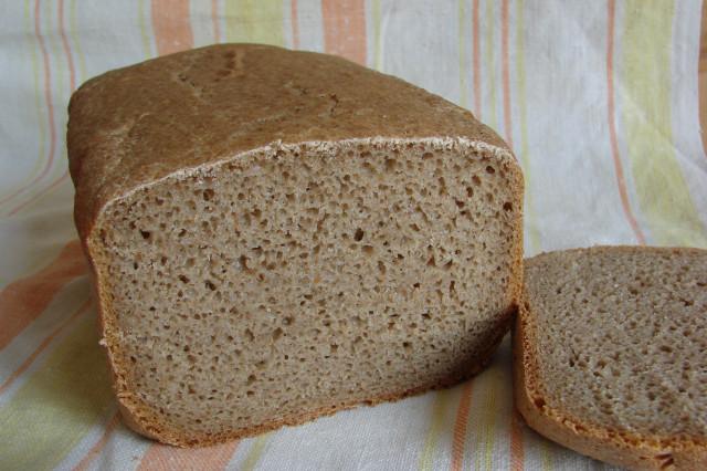 Хлеб из ржаной муки в мультиварке рецепт