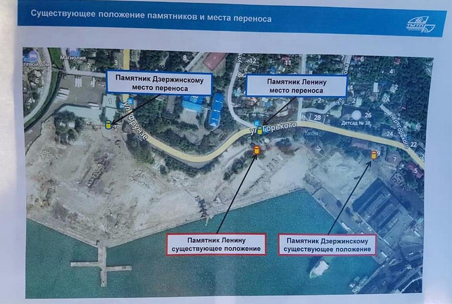 Туапсе порт опора России памятники