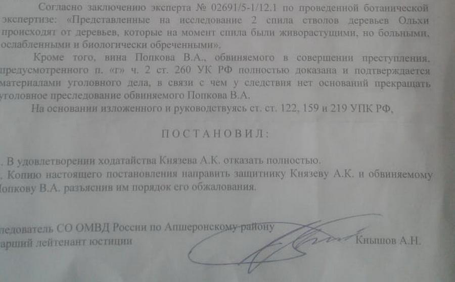 Апшеронск сирота Костенко Госдума ОНФ