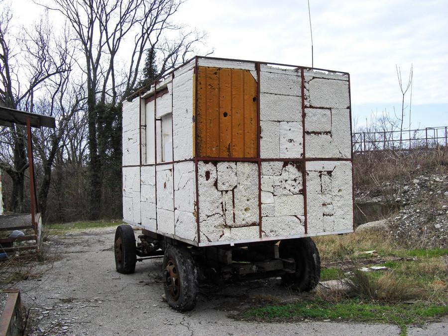 будка на колесах