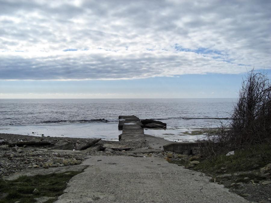 море дамба