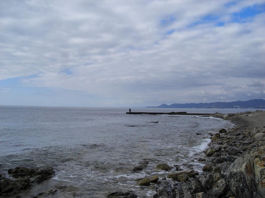 море дамба романтика
