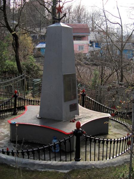 Памяник погибщим морякам Туапсе старое кладбище