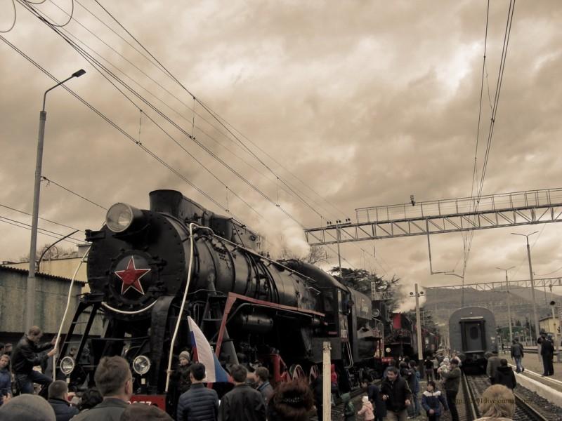 штурм поезда