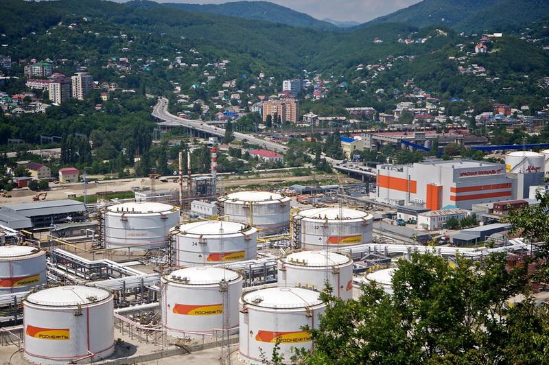 Роснефть нефтебаза Туапсе