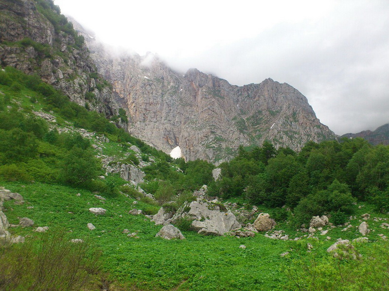 гора Фишт Адыгея