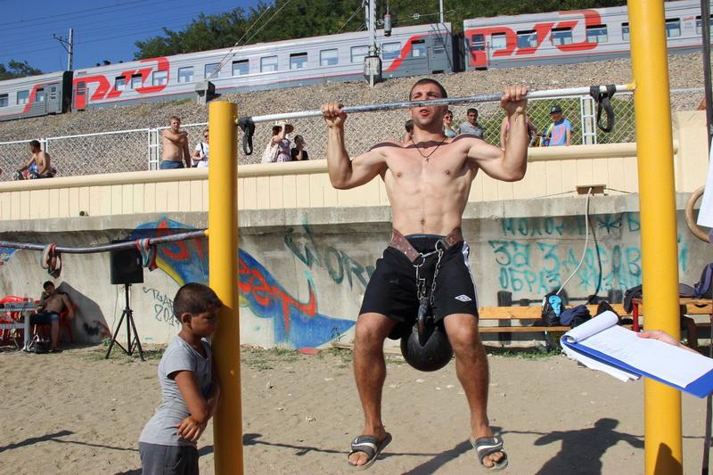 Чемпионат  Street Workout Tuapse-2015