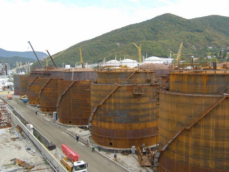 День нефтяника. Туапсинский нефтекомплекс