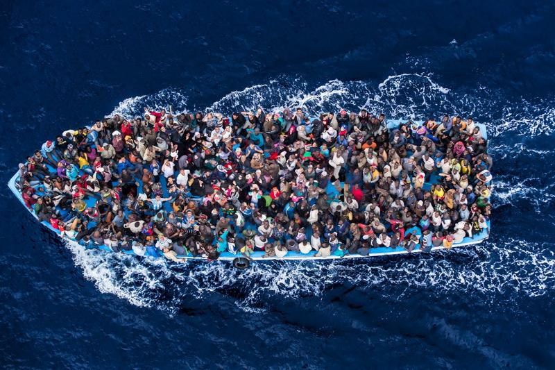 Беженцы в Европе. Мобилизация