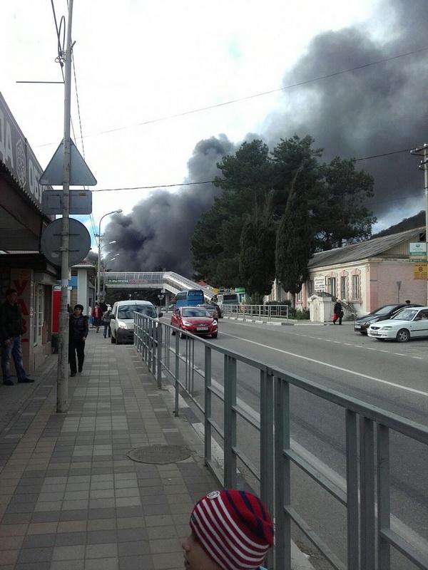 Взрыв котельной в п. Новомихайловский Туапсе