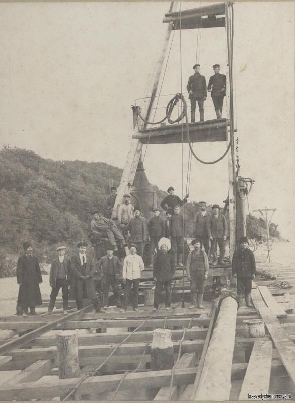 История Туапсе строительство порта