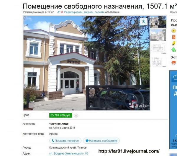 Туапсе продажа недвижимость