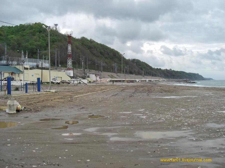 Туапсе пляж море отдых