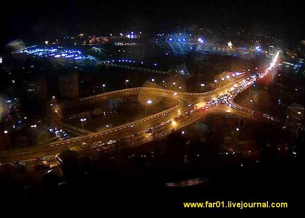 ОНФ Туапсе автодороги пробки