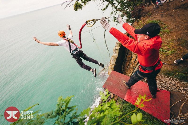 Туапсе скала Киселева прыжки экстрим