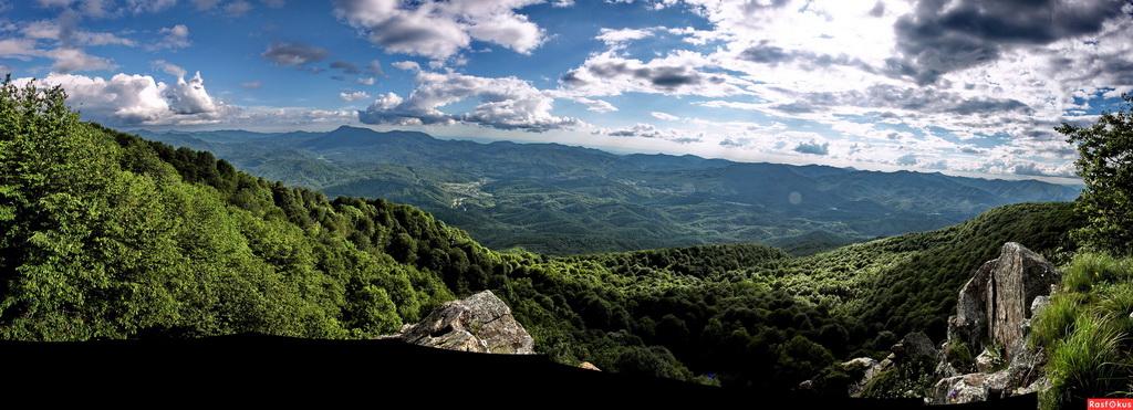 Туапсе Семашхо горы