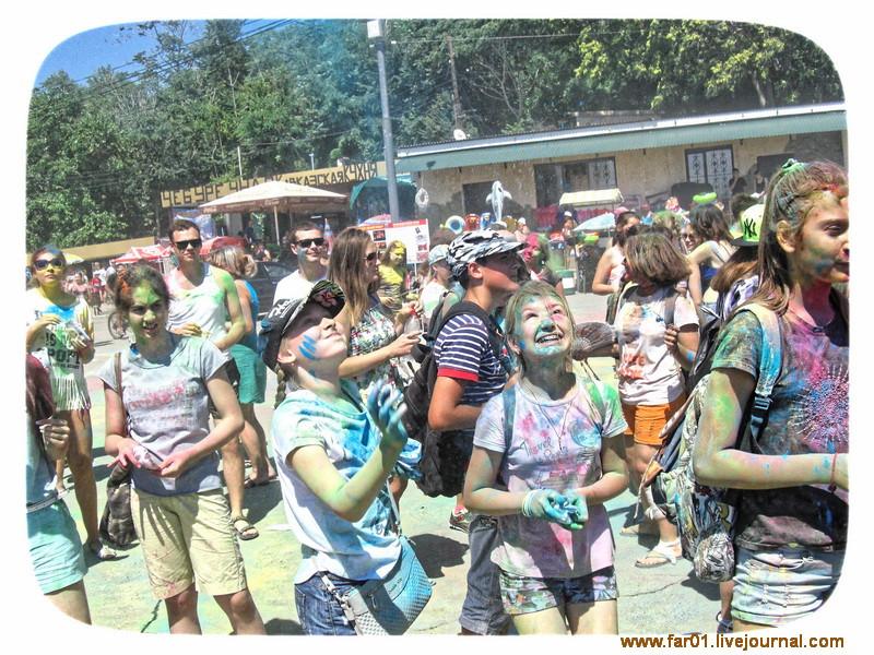 Фестиваль красок Туапсе-2016