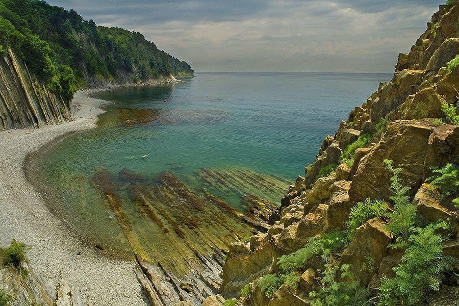 Туапсе Киселева море пляж