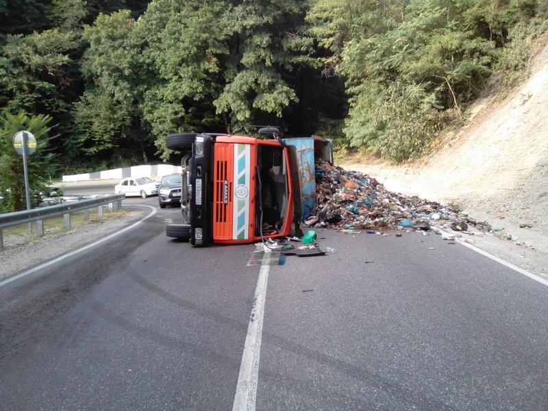 Туапсе мусор свалка Краснодарский край Лермонтово