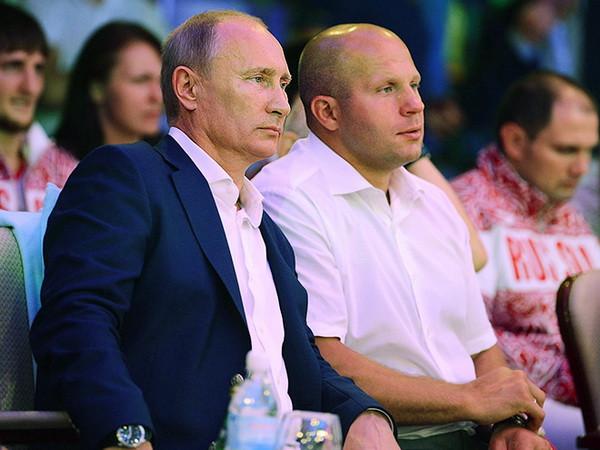 Путин Емельяненко Кадыров
