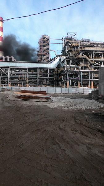Пожар Туапсе НПЗ нефтезавод Роснефть