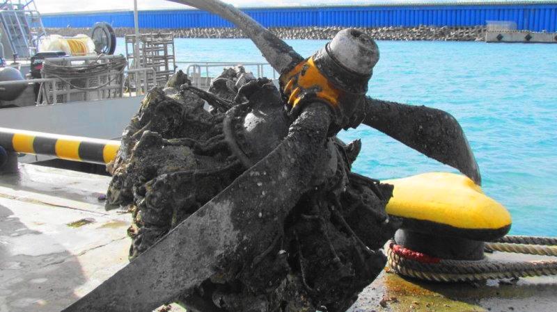 Дуглас А-20 в море под Сочи. Экипаж погиб