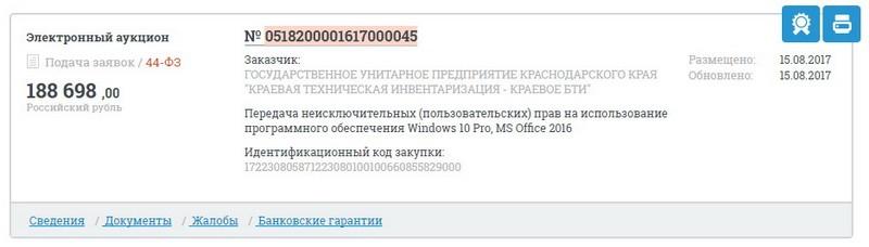 Краснодар край ОНФ За честные закупки иностранное ПО