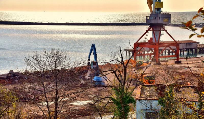 Туапсе промышленность производство история СРЗ порт