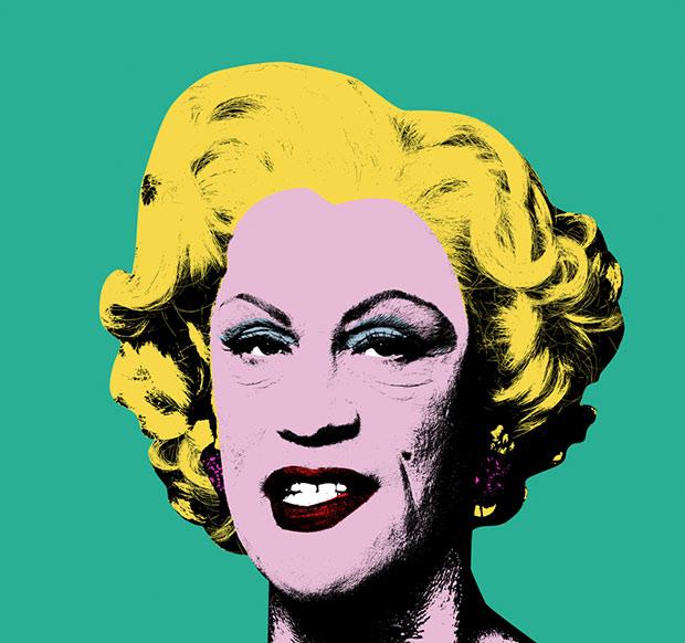 esq-sandro-miller-malcovich-Andy_Warhol___Green_Marilyn_1962_2014