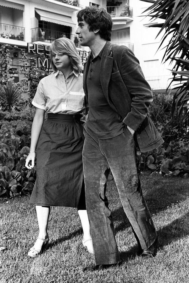Jodie Foster and Robert De Niro, 1976
