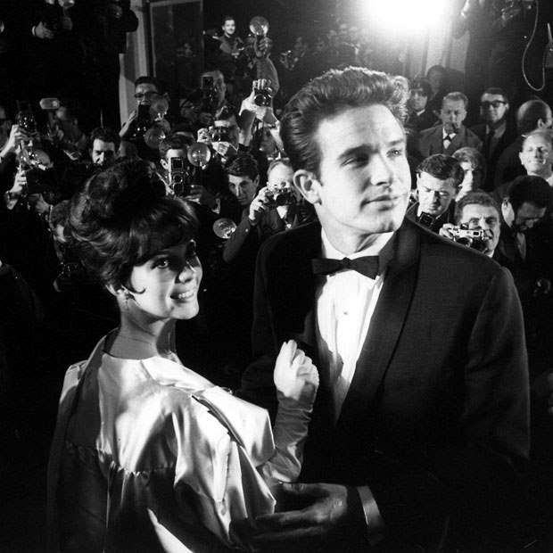 Natalie Wood and Warren Beatty, 1963