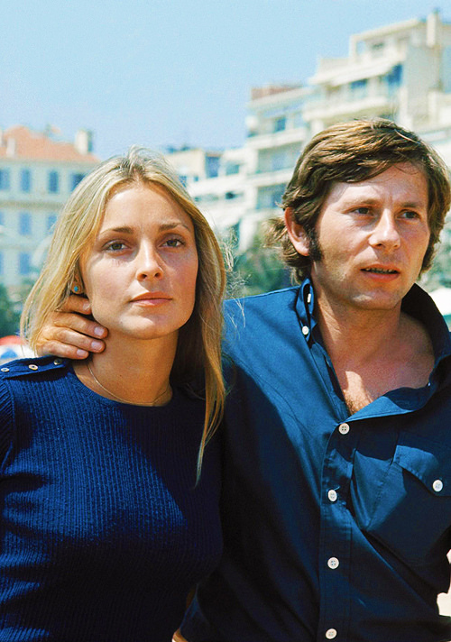 Sharon Tate and Roman Polanski, 1968