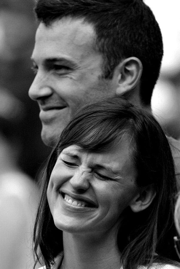 Ben Afflek and Jennifer Garner