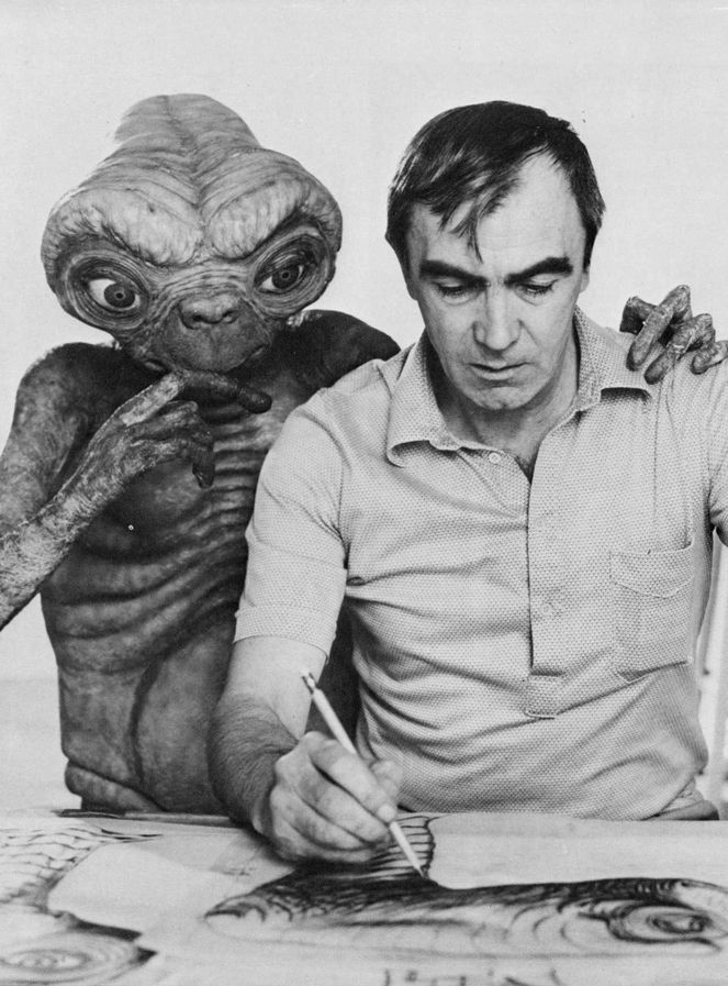E.T. the Extra-Terrestrial and creator, Carlo Rambaldi